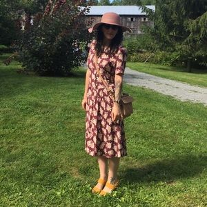 Vintage Floral Dress (made in Italy)